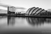 The famous Armadillo and Crowne Plaza hotel on the banks of the river Clyde A Stunning Glasgow Print  Also available as a fine art canvas or wonderfully evocative acrylic print. Glasgow has never looked better  All images are printed just outside Glasgow and delivered anywhere in the world