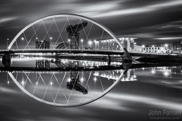 Squinty Bridge Monochrome