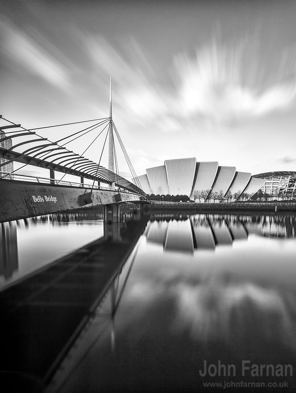 Bells Bridge and the Armadillo, Glasgow