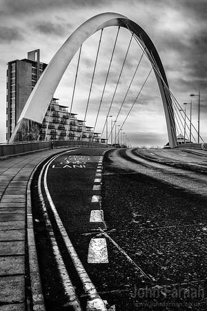 Squinty Bridge. Glasgow