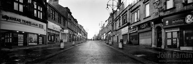 Hamilton town centre Quarry Street