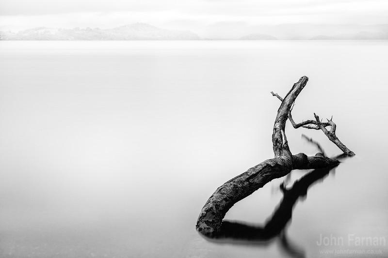 Loch Lomond in the mist