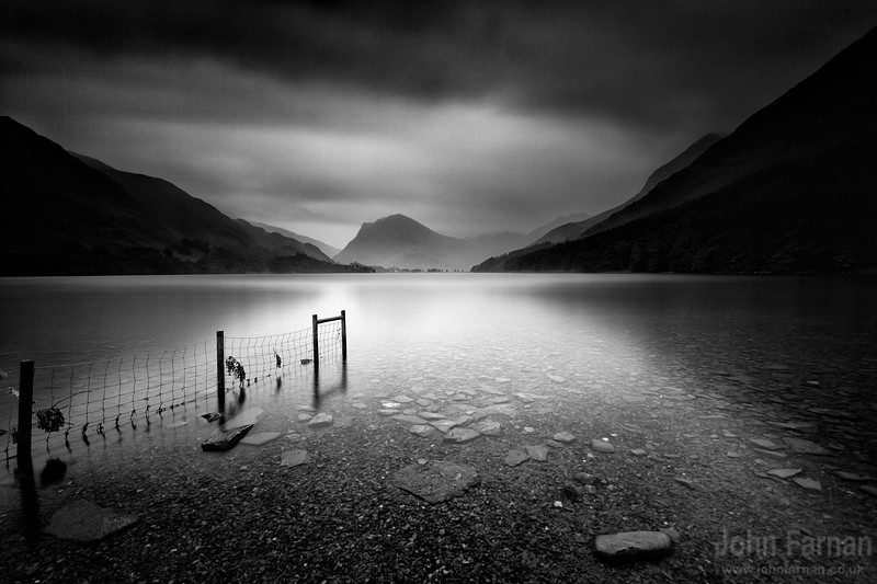 Buttermere black and white