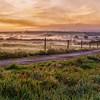A peaceful English morning in Cornwall