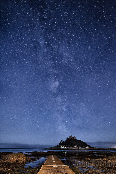 The mount and the milkyway