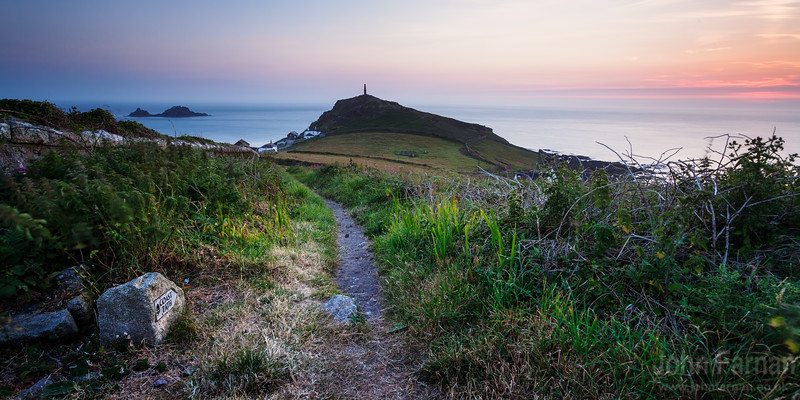 Cape Cornwall and the coastal path