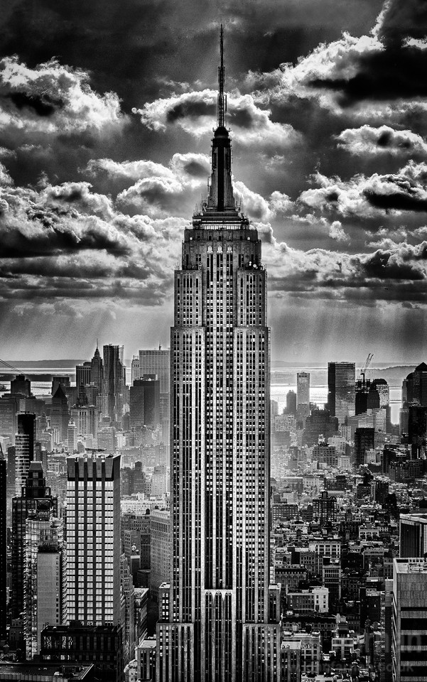 Classic View of the Empire state Building