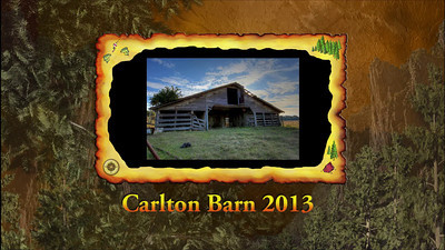3 min VIDEO Carlton Barn 2013
