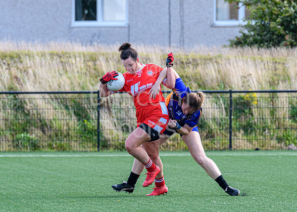 31 August 2019 at Clydebank Sports Hub. GAA Women's Gaelic Football - North of Britain Intermediate Championship match -  Glasgow Gaels v John Mitchels GAA Liverpool