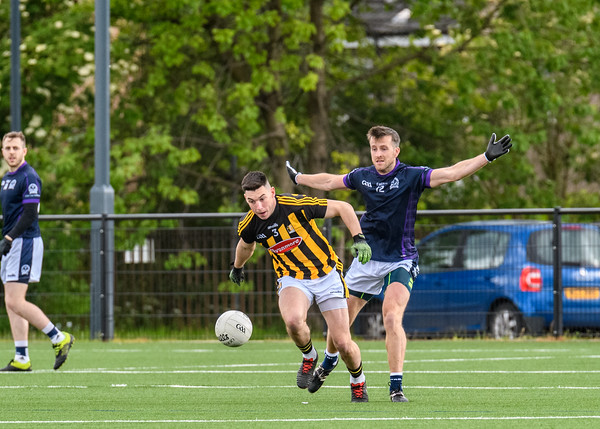 15 June 2019 at Clydebank Community Sport Hub. Scotland GAA.<br /> All Britain Inter County Junior Football Championship semi-final - Scotland v Kilkenny