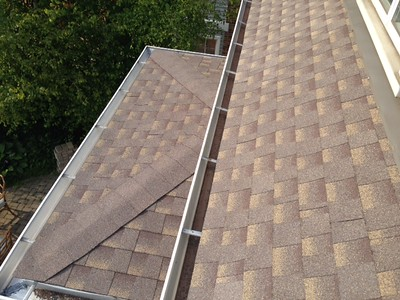 GAF Shingles and Skylight Install