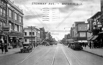 Intersection of Steinway Street and 31st Avenue looking south.