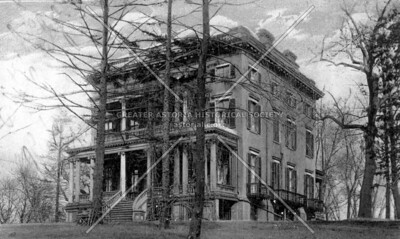 The Barclay Mansion, on Shore Road in Astoria Park removed for the Hell Gate Bridge.