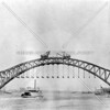 Near completion of the Hell Gate Bridge.