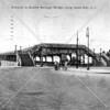 The bridge walkways ended at Queensboro Plaza, then called Bridge Plaza.