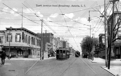 Steinway Street just west of Broadway.