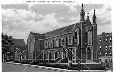 The second Trinity Lutheran Church 37th Street and 31st Avenue Astoria.