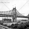 A view of the Queensboro Bridge from Ravenswood with the future Queensview Park in the background.