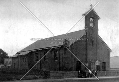 St. Rita's Roman Catholic Church on 12th Street in Ravenswood.