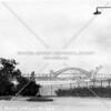Hell Gate Bridge from Carl Schurz Park near Gracie Mansion