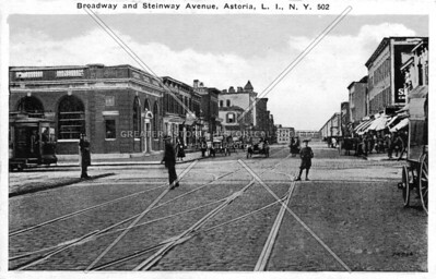 Steinway Street and Broadway looking west.