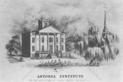 The Astoria Institute (1828), parsonage of St. George's Episcopal Church.