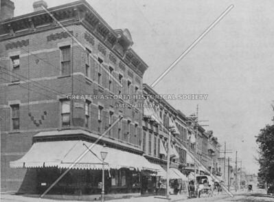 Main Avenue, center of Old Astoria Village.