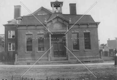 1885 Fourth Ward Primary School (PS 6) between Steinway Street and 38th Street and 31st Avenue and Broadway.