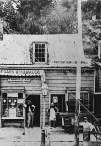 "A purveyor of ""Segars & Tobacco"", Francis Stein on Astoria Boulevard and 18th Street."