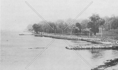 Pot Cove and Shore Boulevard looking north - now Astoria Park