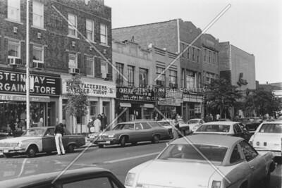 Steinway Street looking north toward 31st Avenue, c. 1975