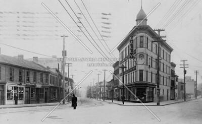 "The Astoria ""Flatiron"" building, on Astoria Boulevard just west of 21st Street Astoria Boulevard."