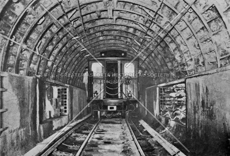 Subway reaching Brooklyn in January 1908