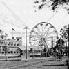 North Beach Amusement Park built in 1886, forged from a partnership of Henry Steinway and George Ehret.  (The onset of Prohibition signalled its demise.)