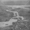 1931 aerial view of the East River, looking downriver from a position above the Bronx