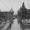 The Mott Haven Canal, an important destination for barge traffic