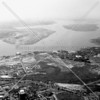 The upper East River with LaGuardia Airport (c. mid-1950s)