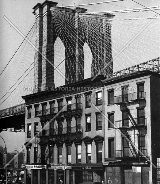 Fulton Street, Brooklyn, scene where there was once a flow of traffic from the old Brooklyn ferry.