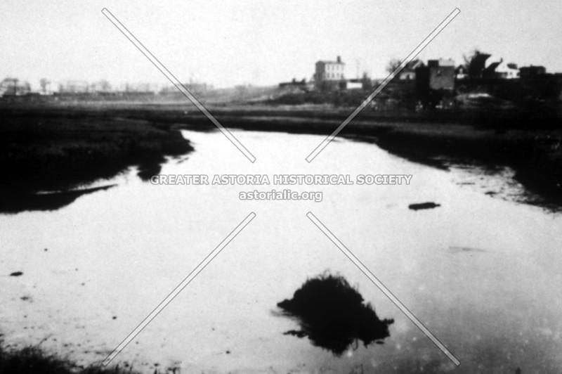 Pond at Dutch Kills (c 1900)