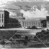 Blackwells Island Lunatic Asylum.  Note the Octagon Tower at center, which still stands today --Now Roosevelt Island