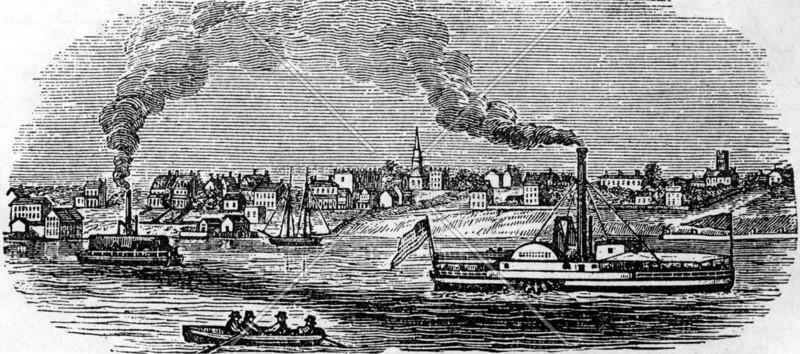 Cripplebush, a former haunt of Captain Kidd (renamed Williamsburg in 1827)
