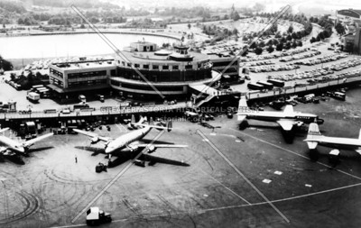LaGuardia Airport in 1950