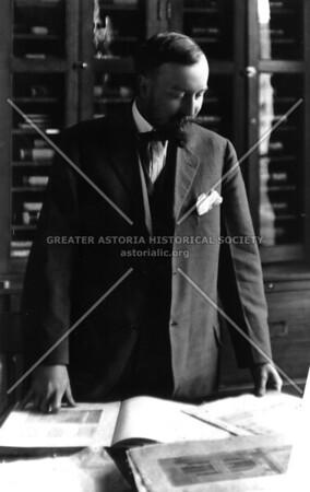 Brooklyn-born Henry Hornbostel, architect of the Queensboro Bridge.