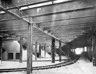 Manhattan trolley tracks