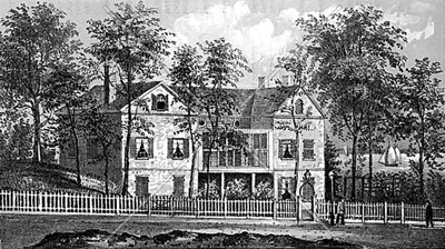 The Mount Vernon Hotel (Abigail Adams-Smith) Museum is on East 61st Street between 1st and York Ave.