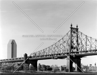 Queensboro Bridge from the North looking south/west.