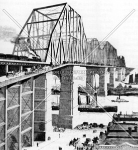 Proposed bridge by the Long Island Railroad in the 1890s.