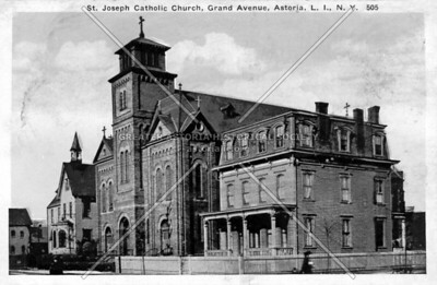 St Joseph's R C Church, 30th Avenue, Astoria