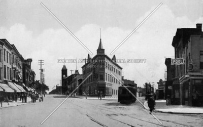 Astoria Blvd and Newtown Road looking east 1900