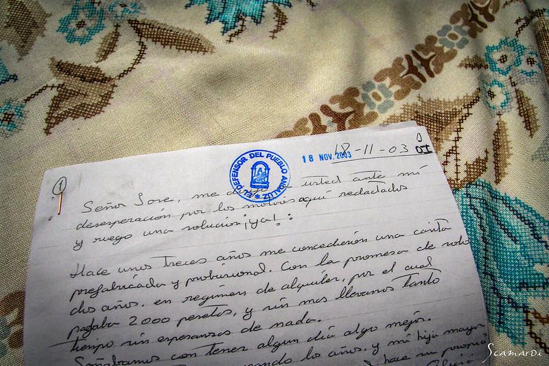 Letter to the village Defender.